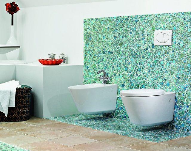 Mozaika w łazience - zdjęcia łazienek