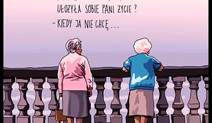 """""""Ułożyła pani sobie życie?..."""" Znana rysowniczka dla WP Kobieta!"""