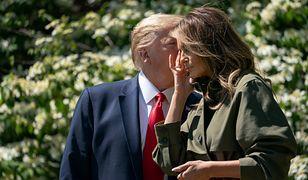 Melania Trump pojawiła się w ogrodzie
