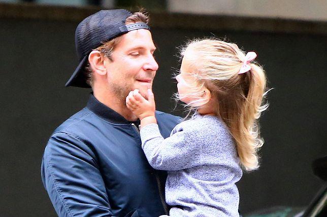 Bradley Cooper z córką. Kocha ją nad życie