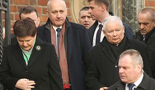 Jarosław Kaczyński, Joachim Brudziński, premier Beata Szydło