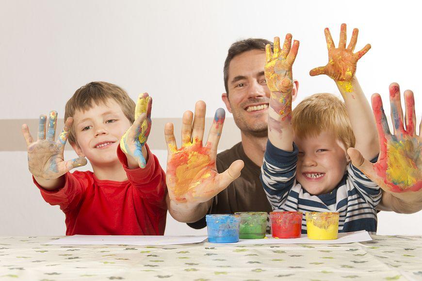 Malowanie farbkami