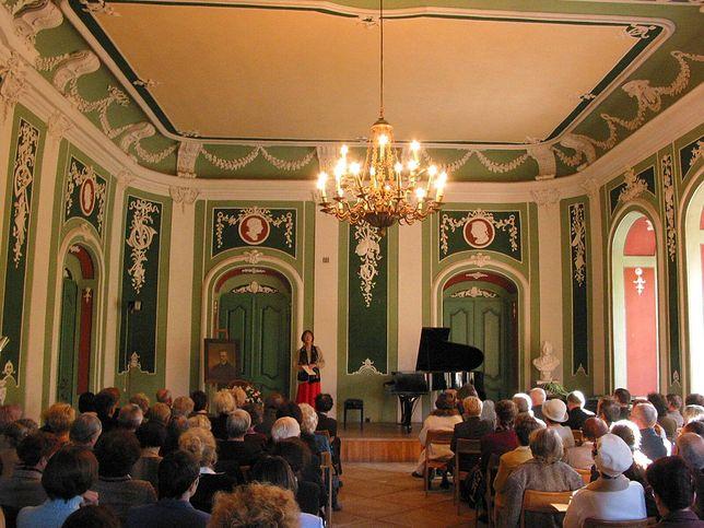 Wnętrze Pałacu Małachowskich w Nałęczowie