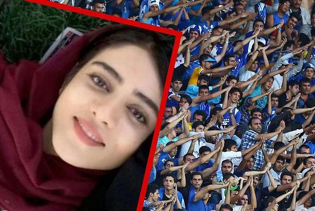 Sahar Khodayari dokonała samospalenia przed stadionem piłkarskim