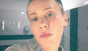 Kasia Warnke ogoliła głowę dla roli