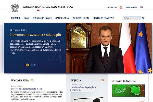 Tusk złożył życzenia Polakom. Śmieszna wpadka kancelarii