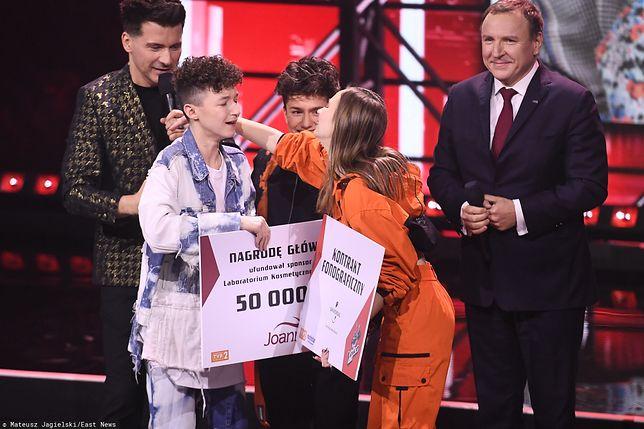 """Marcin Maciejczak wygrał """"The Voice Kids 3"""""""