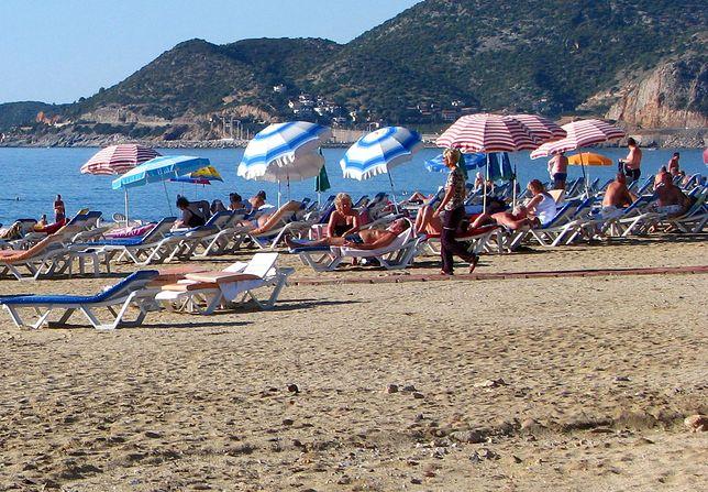 Faszystowska plaża koło Wenecji. Partyzanci oburzeni