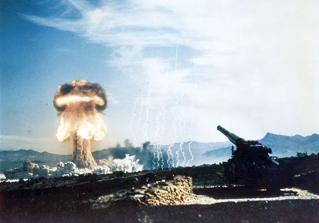 Jedyny atomowy wystrzał z Atomic Annie