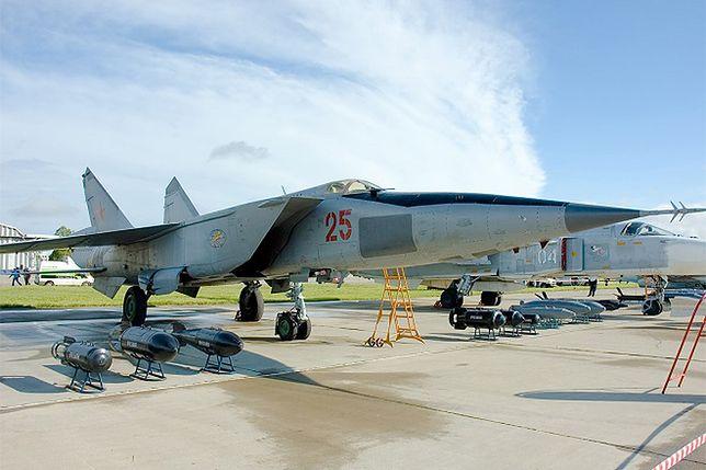 Mig-25 Foxbat - postrach USA. Najszybszy myśliwiec na świecie