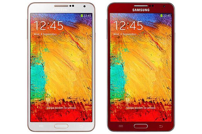 Samsung Galaxy Note 3 w nowych odsłonach