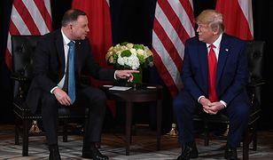 Będzie spotkanie Trump-Duda w Londynie. Ale do Polski prezydent USA się nie wybiera