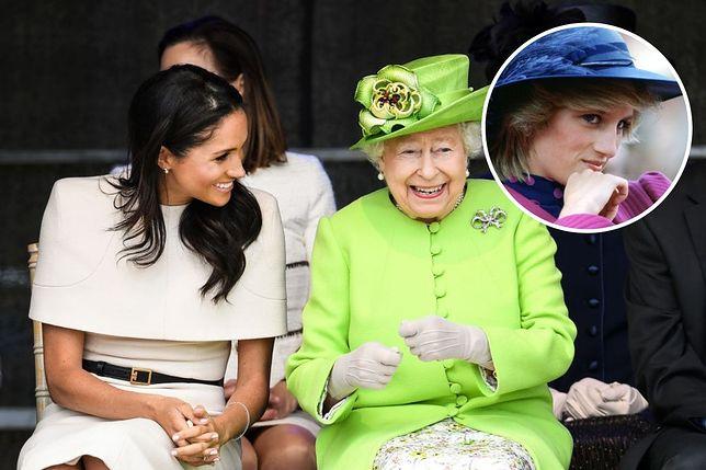 Królowa Elżbieta II miała traktować Meghan inaczej niż Kate