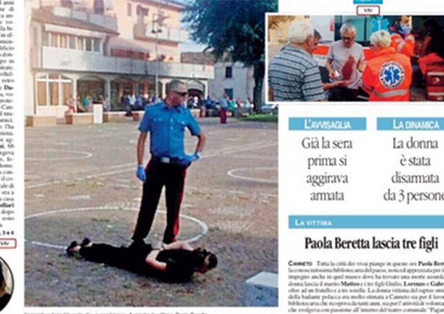 Opiekunka z Polski dźgała nożami rzeźniczymi na oślep. Włoskie śledztwo