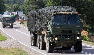Małopolska. Konwój amerykańskiej armii zabłądził w Chabówce. Zaufali nawigacji