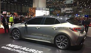 Premiera nowej Toyoty Auris. Japończycy w końcu pokazali konkurenta Golfa i Astry