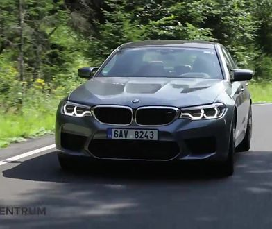 BMW M5 4.4 V8 600 KM, 2018 - test AutoCentrum.pl #401