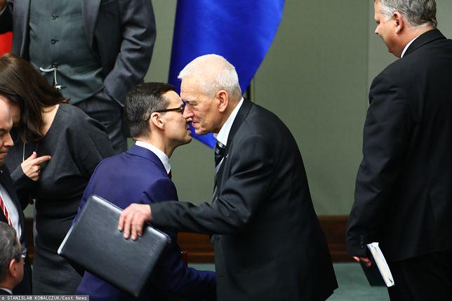 Poruszające słowa premiera. Zdążył pożegnać się z tatą - Kornelem Morawieckim