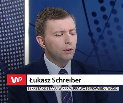 Łukasz Schreiber wyśmiał okładkę ze Schetyną
