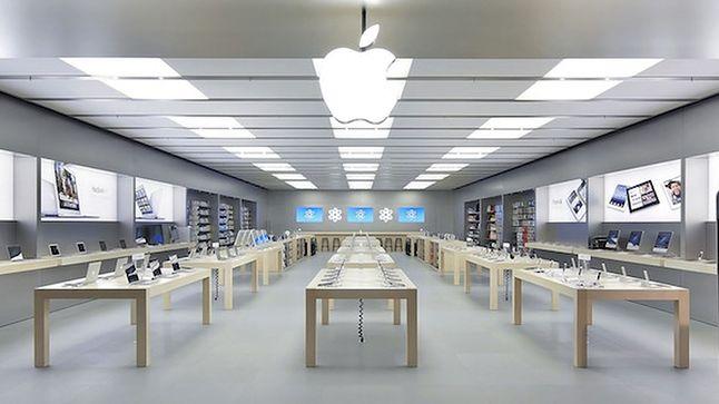 Apple Store we Paryżu.
