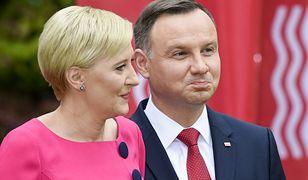 Agata Duda i prezydent Andrzej Duda