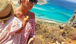 Greckie wakacje jej służą!