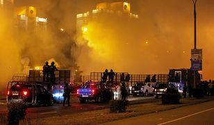 Białoruś. Jest pierwsza ofiara poniedziałkowych protestów