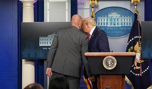 USA. Strzały koło Białego Domu. Donald Trump ewakuowany