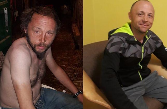 Wiesiek w trakcie picia oraz po 1,5 roku abstynencji