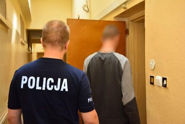 18-latek pobił sprzedawczynię i okradł sklep w okolicach Sompolna
