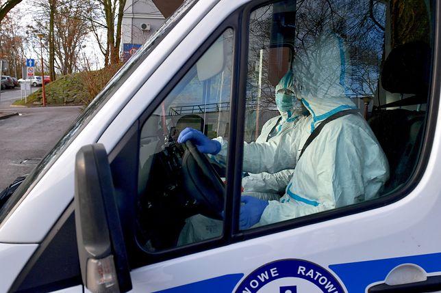 Koronawirus z Chin. Koszalin. Do szpitala trafił pacjent z podejrzeniem zarażenia wirusem.