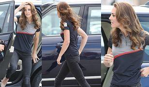 Księżna Kate na regatach. Sportowy strój i... obcasy?