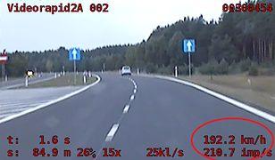 Kierowca skody jechał niemal  200 km/h na trasie do Szczecina