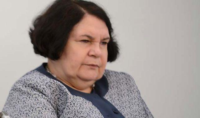 Anna Sobecka chciała, by jej syn został wiceprezesem NIK?