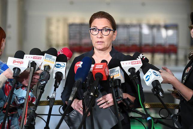 Beata Mazurek odniosła się do afery KNF