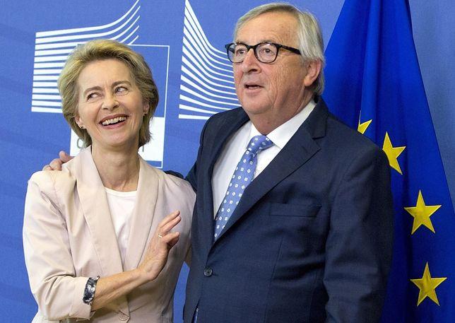 Ursula von der Leyen i Jean-Claude Juncker.