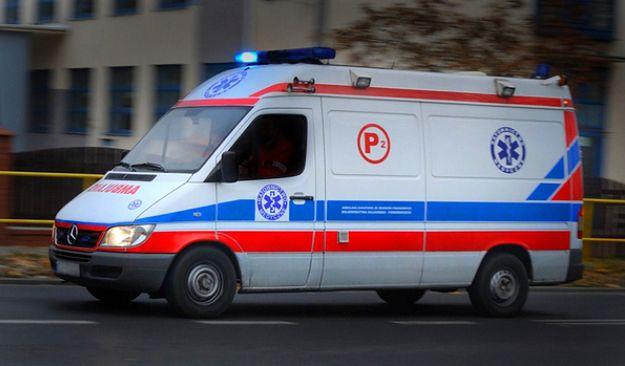 Zderzenie karetki z busem w Brzezówce na Podkarpaciu. 8 osób rannych