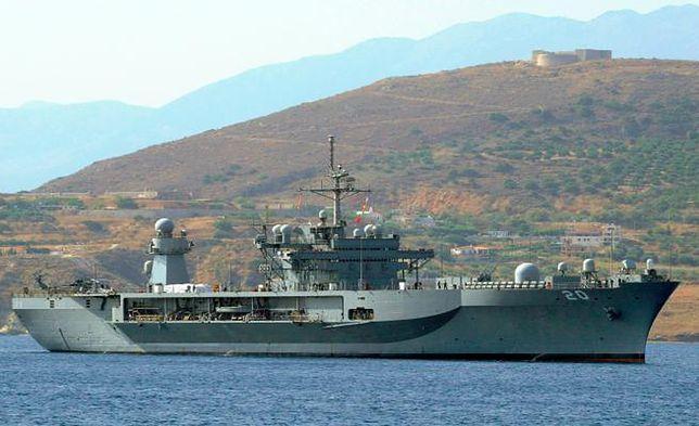 We wtorek okręt amerykańskiej marynarki wojennej wpłynie do Gdyni