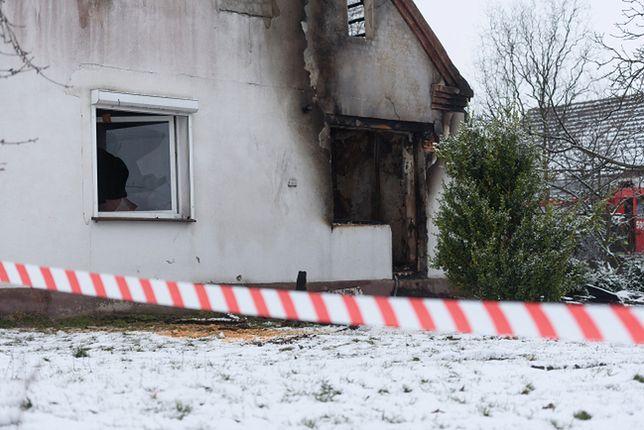 Tragiczny pożar w Dusznikach niedaleko Poznania. Zginęło dwoje małych dzieci