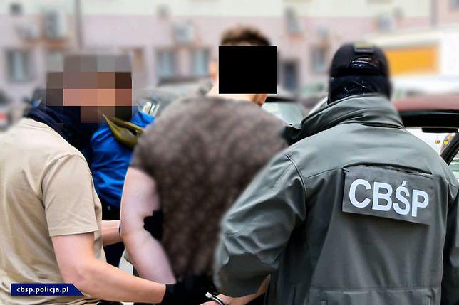 Akcja CBŚP. 23-latek zatrzymany. Planował uprowadzenie dziecka dla okupu