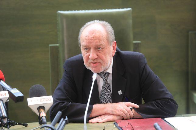 Józef Iwulski podkreślił, że próba obniżenia wieku emerytalnego sędziów to brak zaufania
