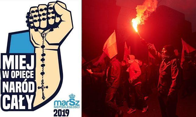 Marsz Niepodległości 2019. Kontrowersyjne logo