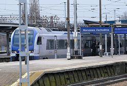 Warszawa. Pociąg potrącił mężczyznę. Są opóźnienia