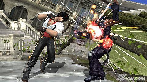 Tekken 6 zmierza także na PSP