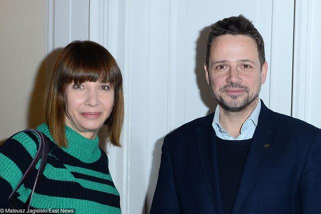 Aktora spotkała się z prezydentem Warszawy we wtorek rano.