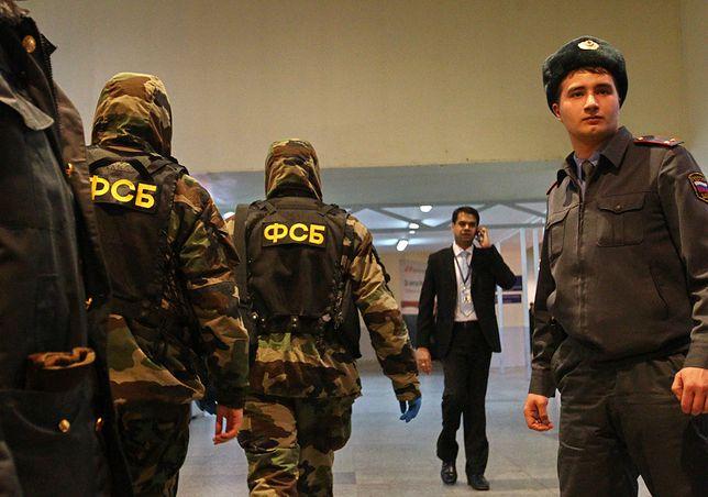 FSB zatrzymała dwie osoby podejrzane o przygotowywanie zamachów
