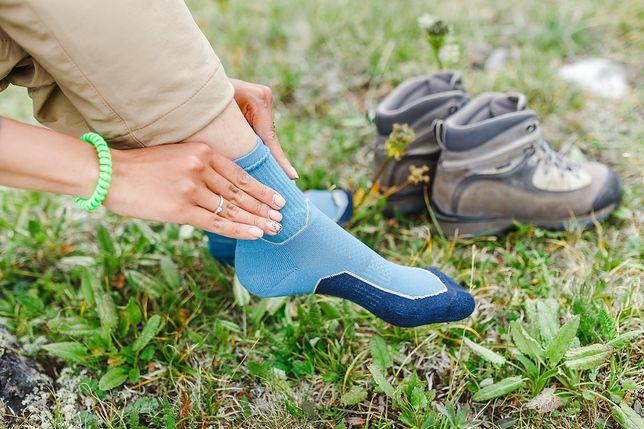 Chłodzące skarpety to świetny wynalazek dla aktywnych - zwłaszcza na letnie wyprawy