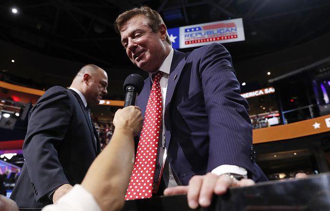 Przeszukano dom szefa kampanii wyborczej Trumpa. Śledczy mu nie ufają?