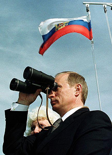 Na co patrzy Putin? Jego wzrok sięga wszędzie - zdjęcia