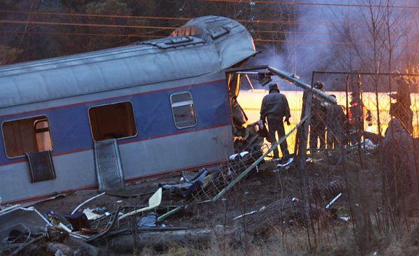 """15-latek miał się inspirować terrorystą, Saidem Buriackim, oskarżonym o stanie za atakiem na pociąg """"Newskij Ekspress"""" w 2009 r.; zdjęcie archiwalne"""